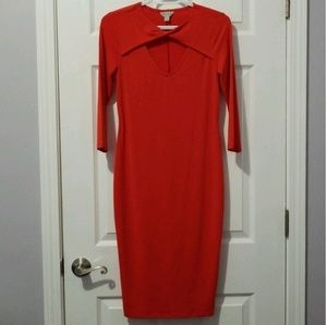 Make me an offer! Red bodycon dress. Never worn